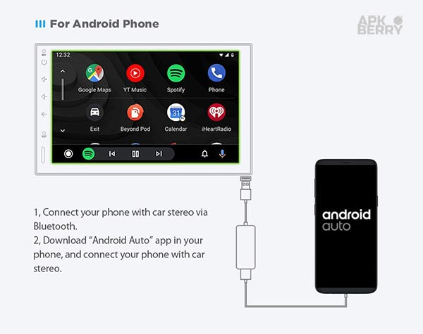 how to install android auto apk
